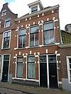 Zijgevel van het pand Papengracht 9