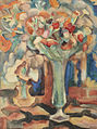 Leo Gestel Still life with flowers in a glass vase 1917.jpg