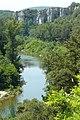 Les gorges de la Cèze près de Montclus (Gard) 2.JPG