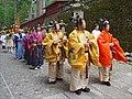 Les musiciens dans la procession Hyakumono-Zoroe Sennin Gyoretsu (Shunki reitaisai, Nikko) (29266893988).jpg