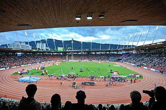 2014 European Athletics Championships - Image: Letzigrund 2014 European Athletics Championships