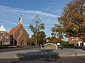 Lewedorp, de Rooms Katholieke kerk in straatzicht foto4 2015-09-29 17.19.jpg