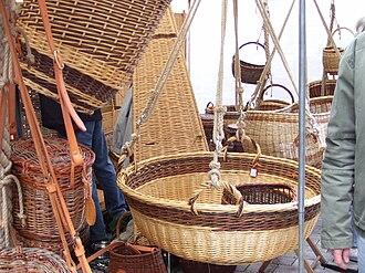Lichtenfels, Bavaria - Image: Lichtenfels Korbmarkt baskets 2