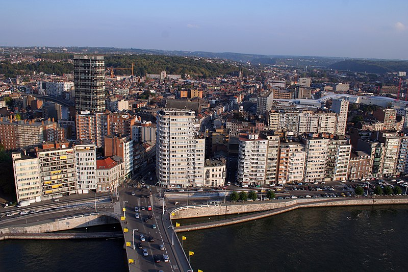 Views of Liège, Belgium.