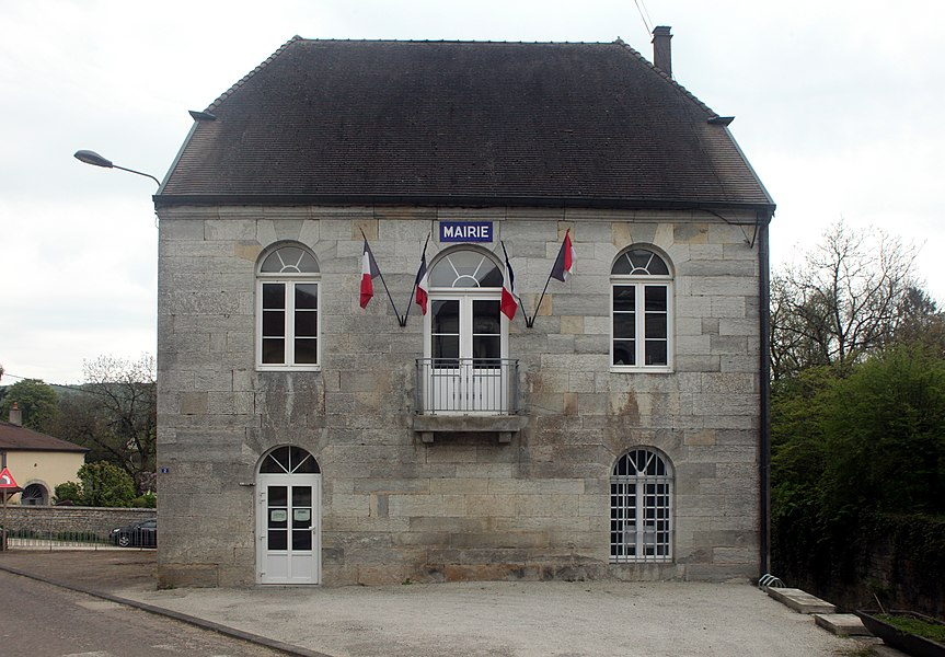 Mairie de Liesle (Doubs).