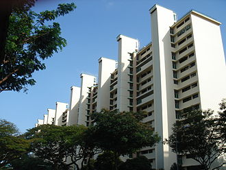 Lift Upgrading Programme - Two HDB blocks with upgraded lifts in Toa Payoh. Extra elevators have been constructed, which make up as many as five per every block.