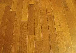 Wood flooring is a popular feature in many houses.