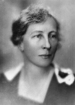 Lillian Moller Gilbreth - Gilbreth in 1921