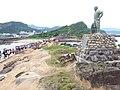 Lin Tian-jen statue, left side 20190812.jpg