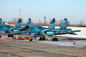 Khibiny (electronic countermeasures system) - Image: Lipetsk Air Base (436 17)