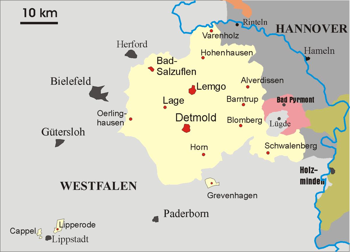 Freistaat Lippe 1920