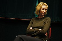 Kudrow visiting her alma mater Vassar College in 2004