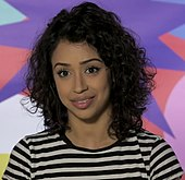 3399a6a24d5cd Liza Koshy hosts the 2018 version of Double Dare.