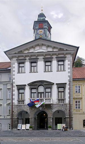 Ljubljana Town Hall - Ljubljana Town Hall
