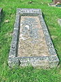 Llandyssil Churchyard. Grave of Walter Buckley Jones and his wife Edith ('Covie').jpg