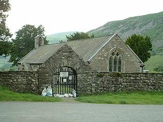 Llanfihangel-y-Pennant Human settlement in Wales