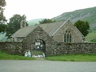 Llanfihangel-y-Pennant - Image: Llanfihangel y Pennant Church