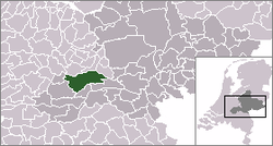 Location of Erichem