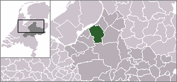 Location of Nunspeet