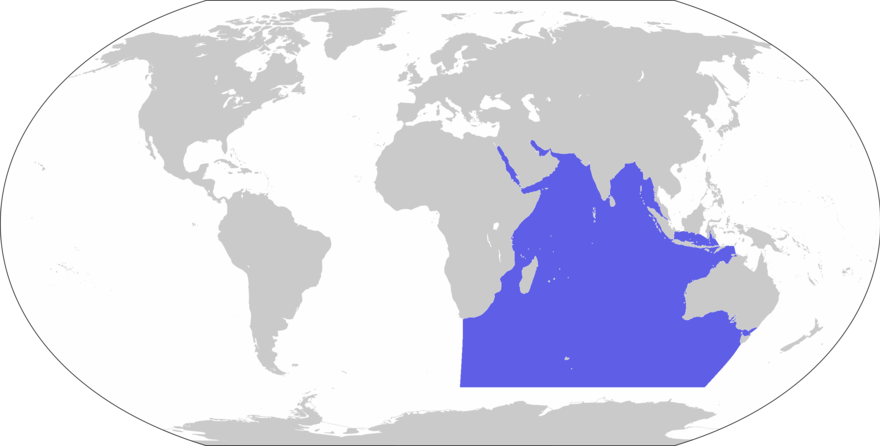 Indian Ocean theater of World War II LocationIndianOcean.png