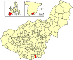 Vị trí của Polopos
