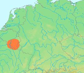 ubicacin de las ardenas al sur de blgica y norte de francia
