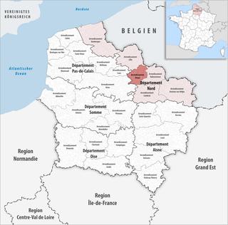 Arrondissement of Douai Arrondissement in Hauts-de-France, France