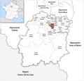 Locator map of Kanton Sainte-Geneviève-des-Bois 2019.png
