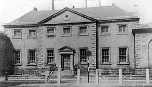 Royal Hospital, Donnybrook - The hospital building in Townsend St., which was taken over by the Lock Hospital in 1793.