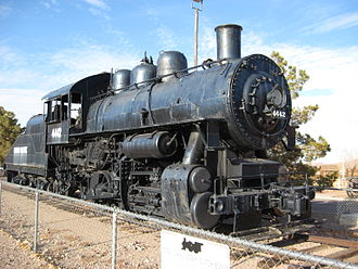 Clark County Museum - Antique locomotive, Clark County Museum