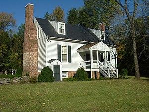 Locust Grove (Dillwyn, Virginia) - Back of the house