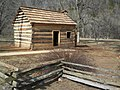 Log cabin at Knob Creek.jpg