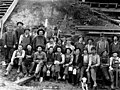 Loggers group portrait, Clearwater Lumber Co, Snohomish County, ca 1913 (PICKETT 252).jpeg