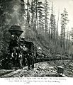 Logging Train near Detroit, Ore. c. 1900 (8113442872).jpg