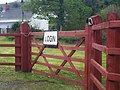 Login sign, Login, Whitland - geograph.org.uk - 1280634.jpg