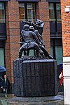 London - National Firefighters Memorial 1990 by John W.Mills.jpg