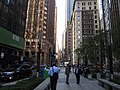 Looking Down Wall Street, Manhattan, New York (7236961374).jpg