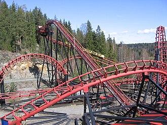 Tusenfryd - Image: Loopen roller coaster Oslo