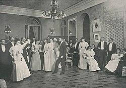 Los Salones de Madrid, Hall del palacio de la Embajada de Alemania, Franzen (cropped).jpg