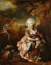 Nicolas de Largillière : Portrait of a Boy in Fancy Dress