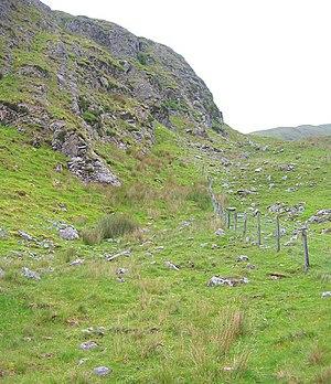 Garraun (marilyn) - Lower slopes of Garraun