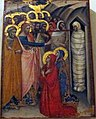 Luca di tommè, resurrezione di lazzaro, ante 1362.JPG