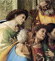 Luca signorelli, comunione con gli apostoli, cortona, dettaglio.jpg