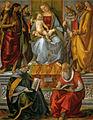 Luca signorelli, vergine in trono e santi, volterra.jpg
