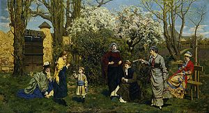 Ludomir Benedyktowicz - Gathering Violets