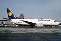 Lufthansa Boeing 737-530; D-ABIE, February 1991 (5888010286).jpg