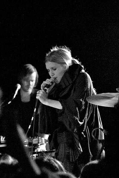 La cantante sueca de indie Lykke Li