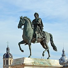 Statue équestre de Louis XIV