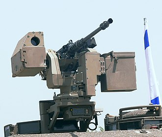 M2 Browning - M2 Browning on a Samson RCWS of the Israel Defense Forces