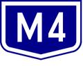 M4 autopalya(Hu) otszogletu kek tabla.PNG